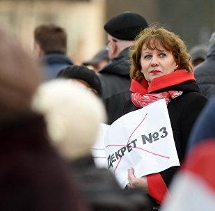 Протесты в Рогачеве
