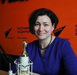Старшыня Мінскай гарадской натарыяльнай палаты Алена Мяцельская