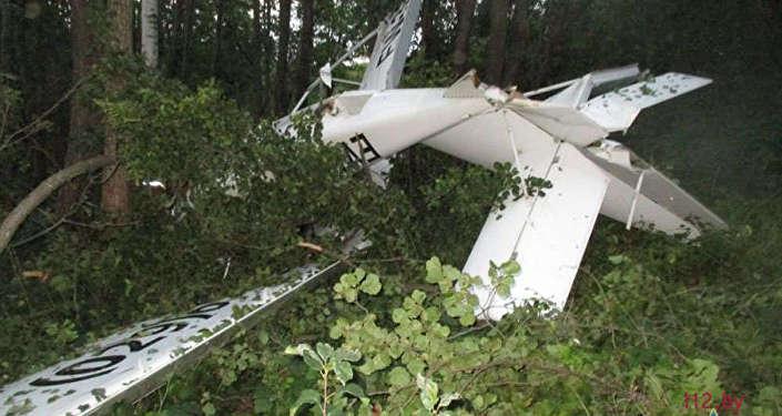 Гидросамолет, упавший возле Браслава летом 2016 года