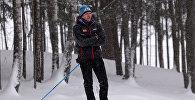 Белорусский лыжник Сергей Долидович