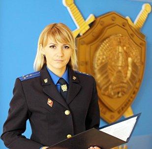 Официальный представитель Следственного комитета Беларуси по Брестской области Марина Дранькова