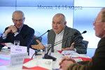Генеральный директор МИА Россия сегодня Дмитрий Киселев и Государственный секретарь Союзного государства Григорий Рапота