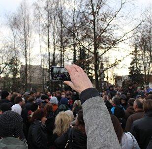 Несанкционированная акция Марш нетунеядцев в Гродно