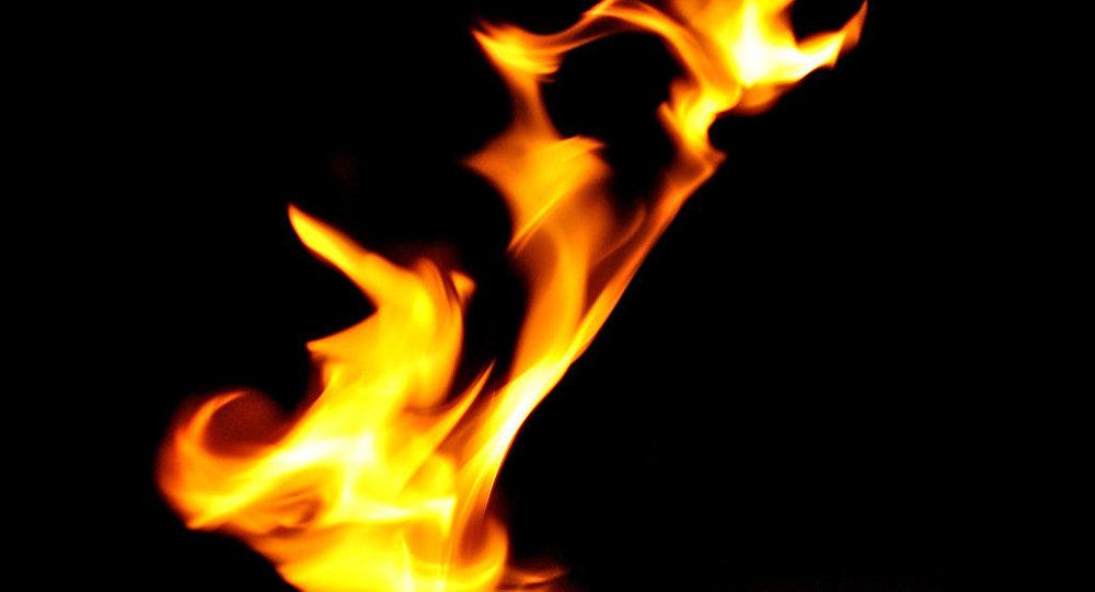 Пожар натерритории строящегося храма вБорисове: никто непострадал
