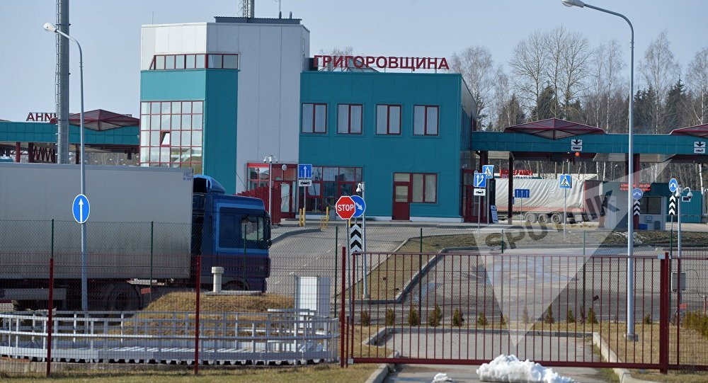 Пункт пропуску Грыгароўшчына на беларуска-літоўскім памежжы