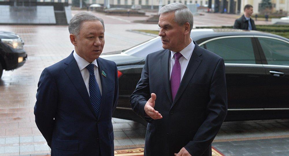 Нурлан Нигматулин прибыл вБеларусь софициальным визитом