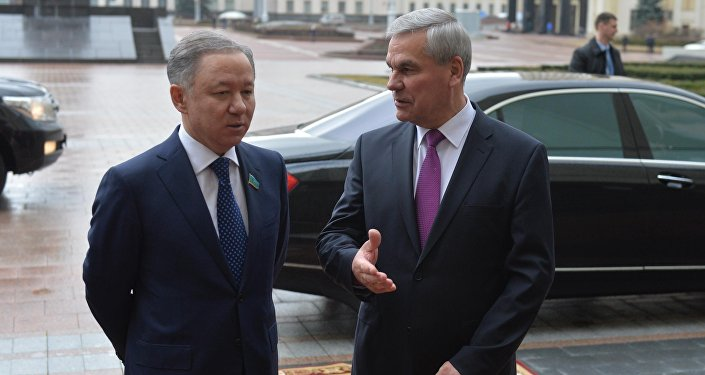 Владимир Андрейченко (справа) и Нурлан Нигматулин