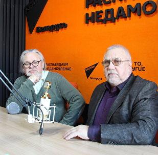 Композитор Олег Залетнев и писатель, сценарист, автор либретто Сергей Макарей