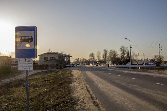Поселок Титовка под Бобруйском