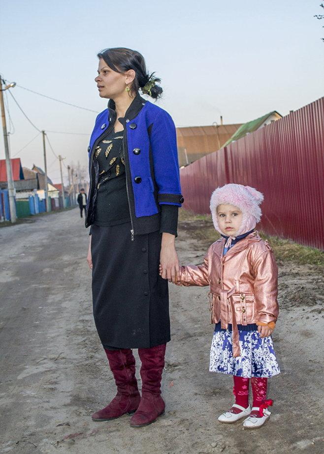Цыганка Патрина с дочерью