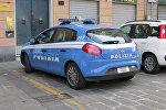 Автомобиль итальянской полиции, архивное фото