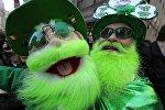 Ирландцы празднуют День святого Патрика, архивное фото