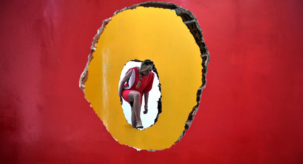Інсталяцыя бразільскага мастака на Венецыянскай біенале - 2016
