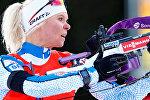 Финская биатлонистка Мари Лаукканен