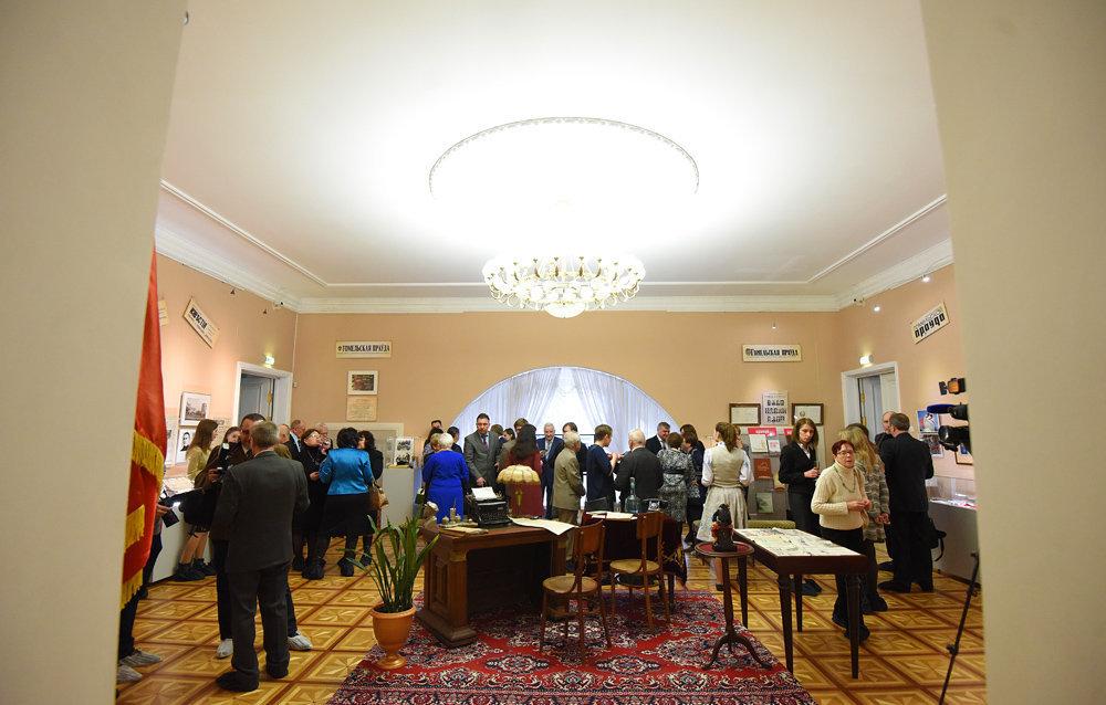Примечательный факт – в 1917 году редакция размещалась в здании нынешнего дворца Румянцевых и Паскевичей.