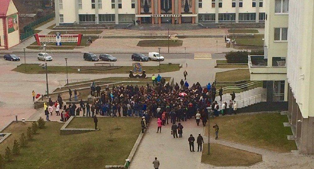 В республики Белоруссии прошёл очередной марш «нетунеядцев»