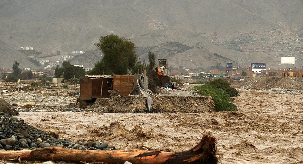 ВПеру число погибших наводнения возросло до75 человек