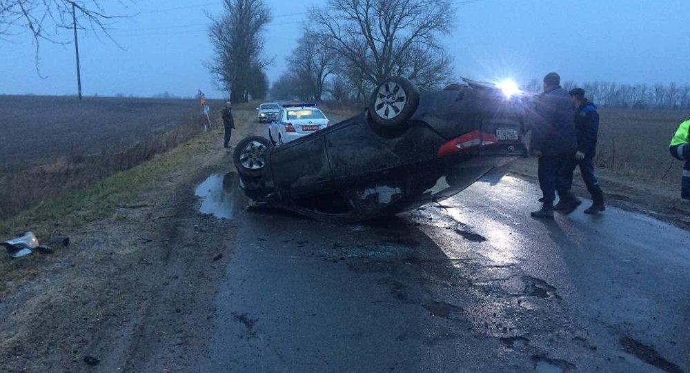 Авария в Минском районе