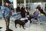 Зал ожидания в аэропорту Внуково, архивное фото