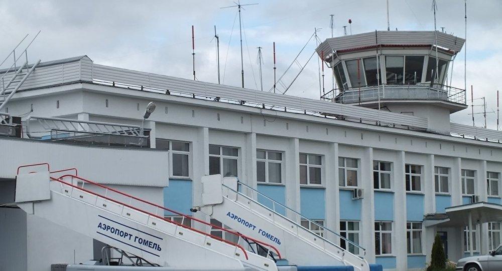 Гомельский аэропорт, июнь 2014 года