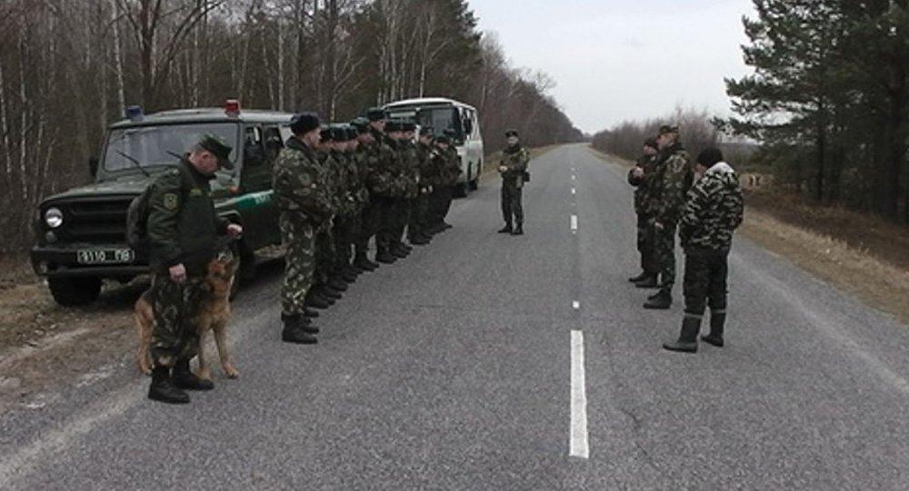 Розыск браконьеров в Мозырском районе