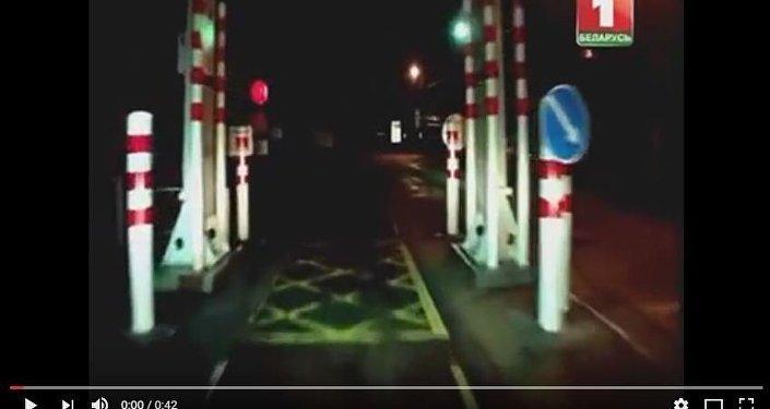 Видео прорыва через украинско-белорусскую границу