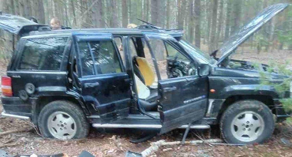 Автомобиль, на котором была совершена попытка прорыва госграницы