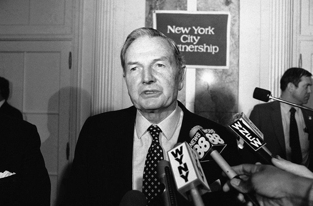 Дэвид Рокфеллер (David Rockefeller)