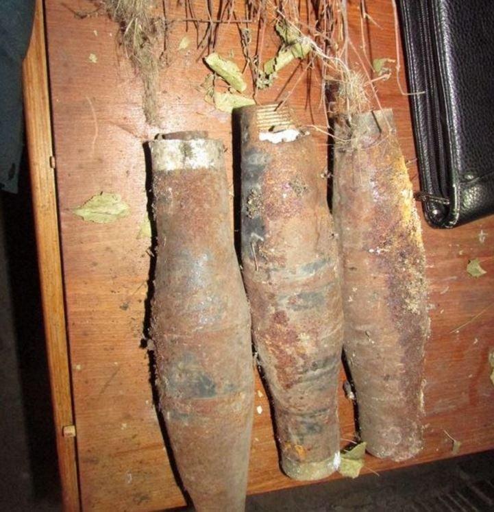 Артиллерийские снаряды хранились в подвале жилого дома