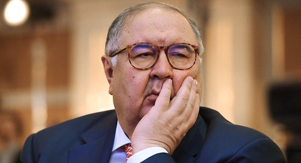 Президент FIE Алишер Усманов