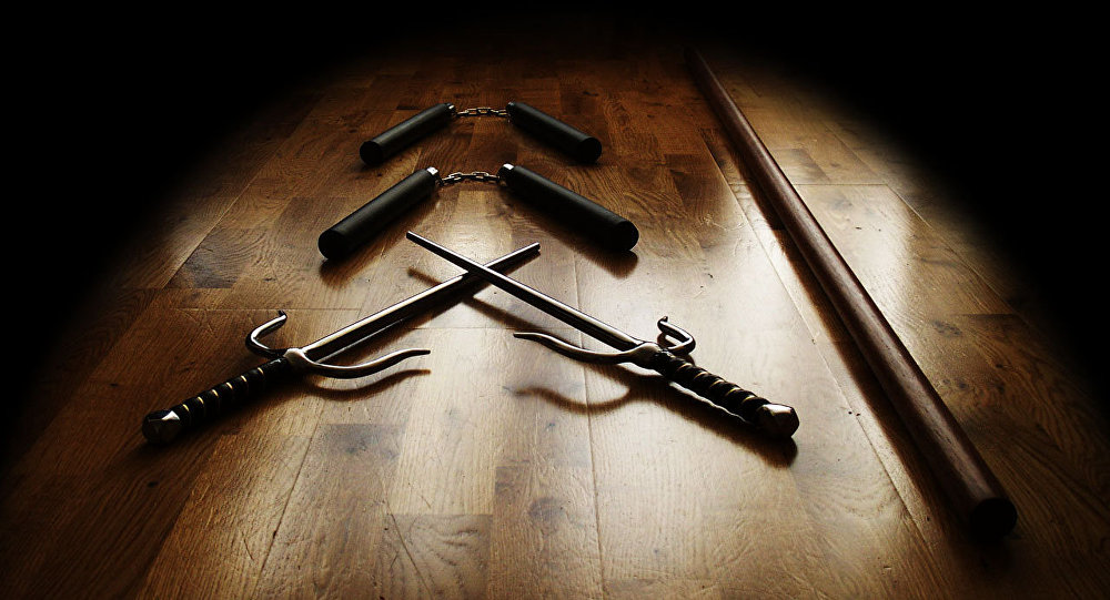 Оружие ниндзя, архивное фото
