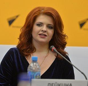 Певица Анастасия Лейкина