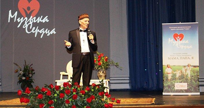 Шелва Амонашвили читает лекцию о тонкостях воспитания современных детей