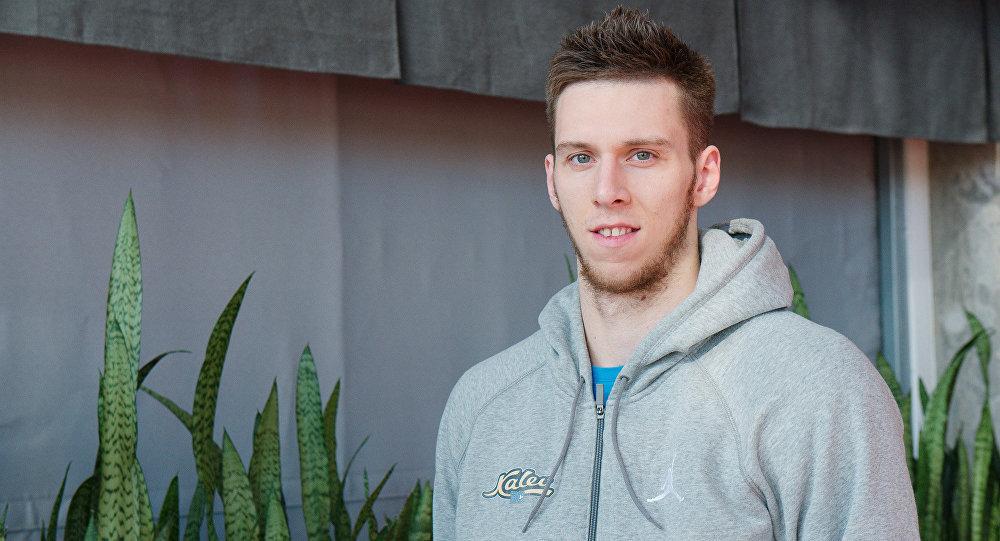Беларускі баскетбаліст Віталь Лютыч
