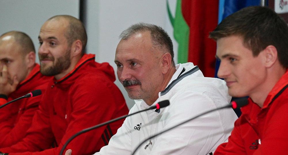 Криушенко назначен напост основного тренера сборной Республики Беларусь