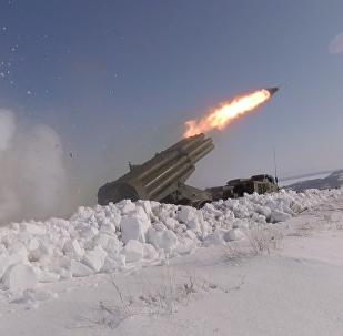 Учения артиллерии под Оренбургом