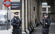Лондонская полиция после теракта 22 марта