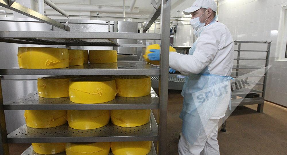 Производство белорусского сыра
