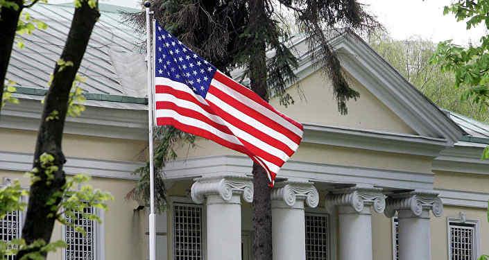 Будынак пасольства ЗША ў Мінску