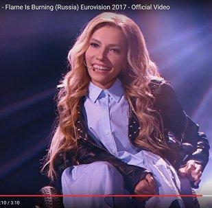 Выступление Самойловой для Евровидения посмотрели больше миллиона раз