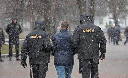 День Воли в Минске: правоохранительные органы пресекают попытки собраться на несанкционированную акцию