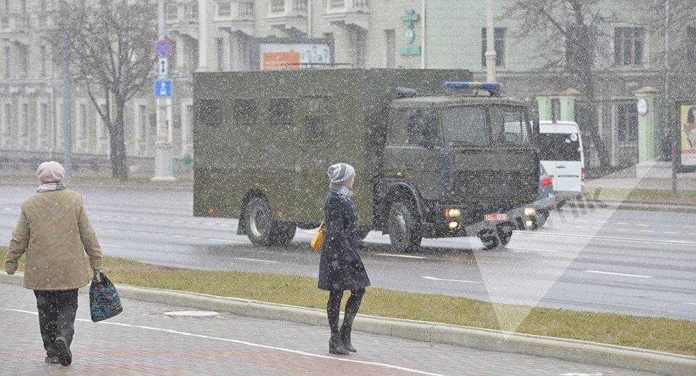 ВМинске начались задержания демонстрантов в«День Воли»