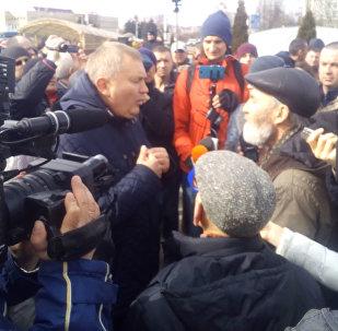 Несанкционированная акция оппозиции прошла в Витебске