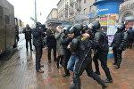 Третья волна задержаний началась на пересечении проспекта Независимости и Машерова