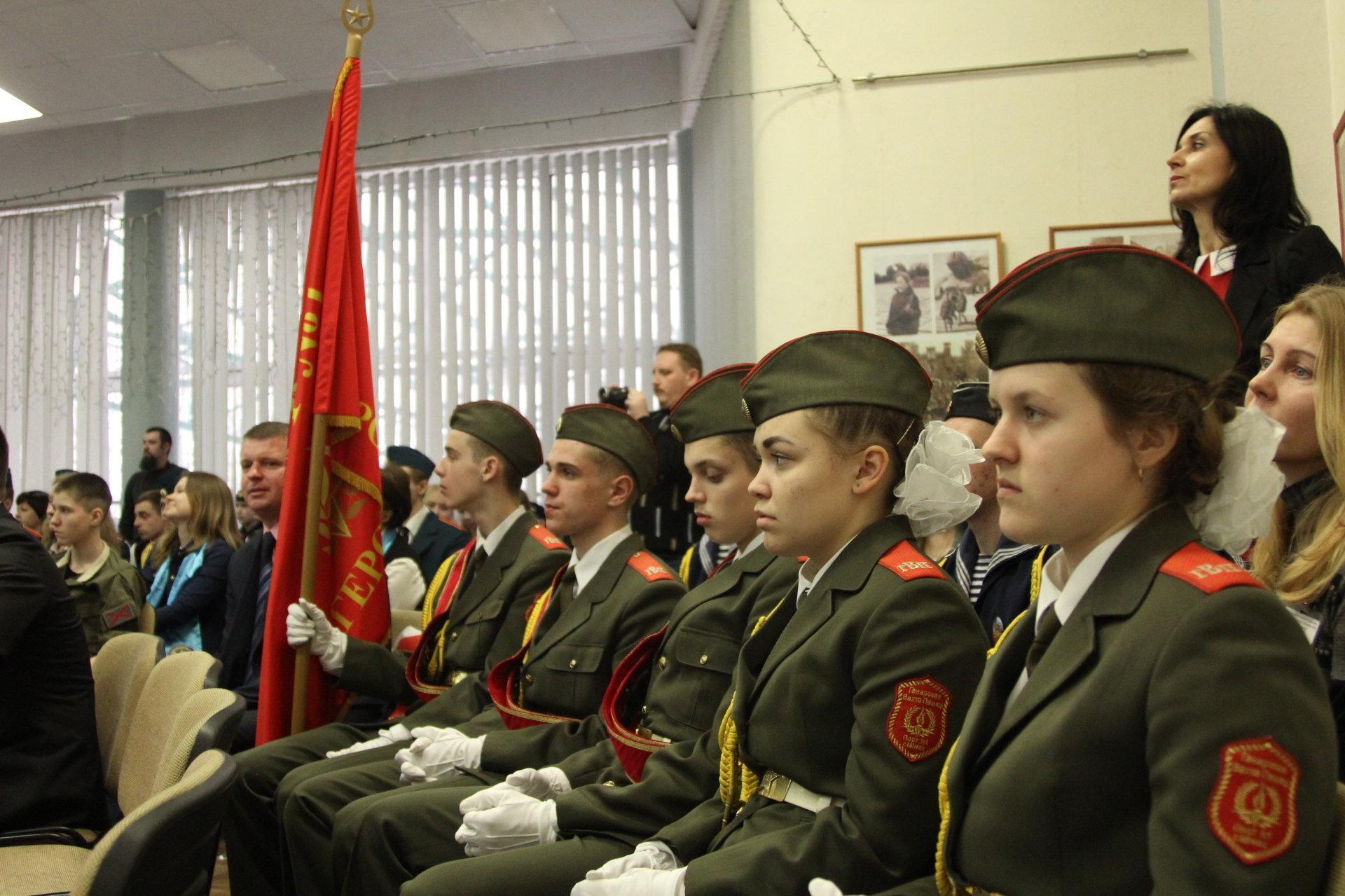Почетный караул из Минска