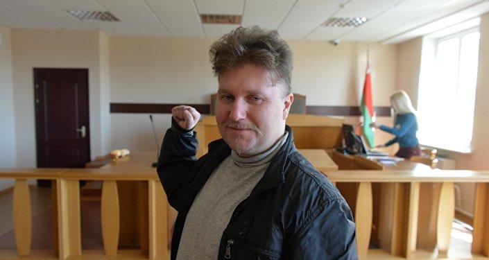 Суд вМинске арестовал на12 суток фигуранта «болотного дела» Алексея Полиховича