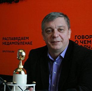 Художественный руководитель Национального академического драматического театра имени М.Горького Сергей Ковальчик
