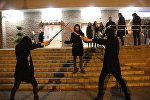 Фанаты Звездных войн у кинотеатра Киев