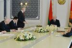 Совещание у президента Беларуси о создании единой системы мониторинга общественной безопасности 27.03.2017