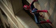 Кадр из фильма о Человеке-пауке